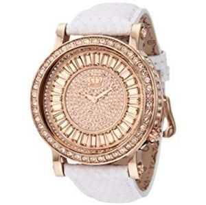 NWT Juicy Couture Queen Couture Rosegold Watch